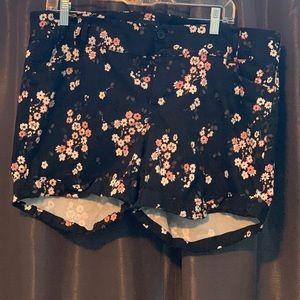 Torrid Floral Shorts